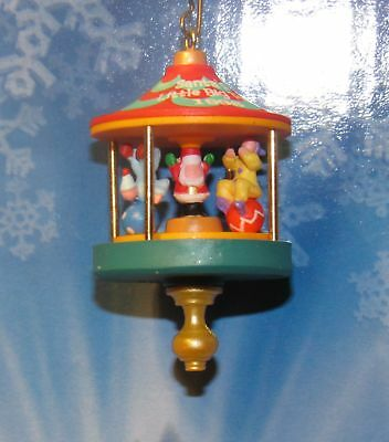 "1996 Hallmark Miniature Ornament ""SANTA'S LITTLE BIG TOP"""