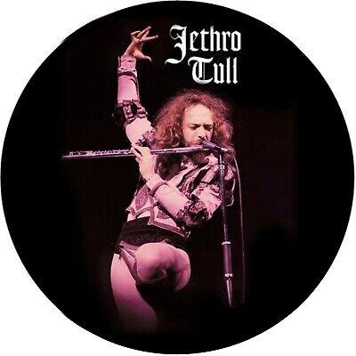 Parche imprimido, Iron on patch, /Textil sticker, Pegatina/ - Jethro Tull