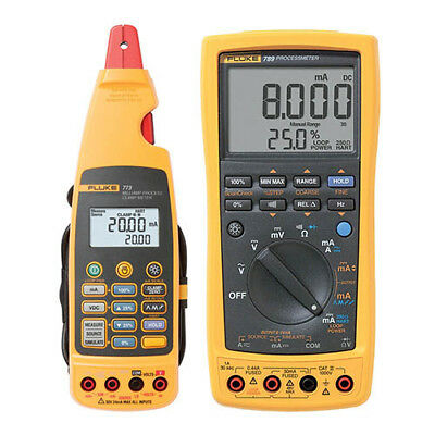 Fluke 789/773 BU ProcessMeter, HART, Milliamp Process Clamp Meter Kit