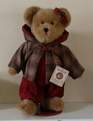 "Boyds Bears PLUSH 2003  ~16"" AUBREY T. AUTUMNFEST~STYLE #904150 Pre-loved"