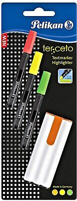 Grün Adel Textmarker Slim Line Highlighter Zweier Pack