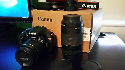 Canon EOS Rebel T5 / EOS 1200D 18.0MP Digital SLR Camera With 300mm