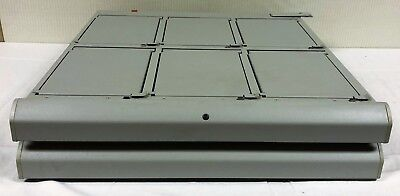 Omnicell Pharmacy II Large Locking Lid Drawer with 6 Bins High Security