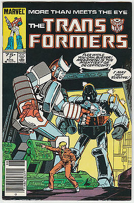 The Transformers #7 Marvel 1985 VG/F