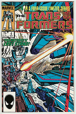 The Transformers #4 (of 4) Marvel Limited Series 1st Printing 1984 NM