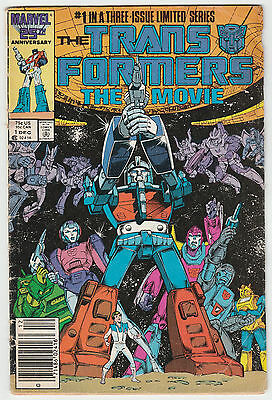 The Transformers: The Movie #1 (of 3) Limited Series Marvel 1986 ~ Good