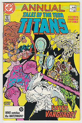 Tales of The Teen Titans Annual #4 DC Comics 1986 F+
