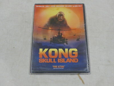 Kong Skull Island Dvd New / Sealed