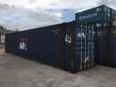 45' used HC Shipping Storage Container Houston, TX