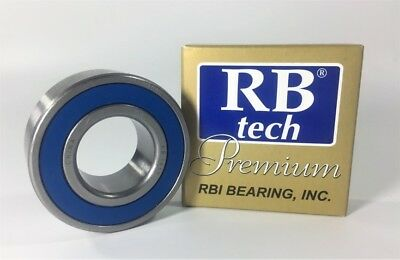 "RB TECH 1621-RS SINGLE ROW BALL BEARING W// SNAP RING  1//2/"" ID X 1-3//8 OD NOS"
