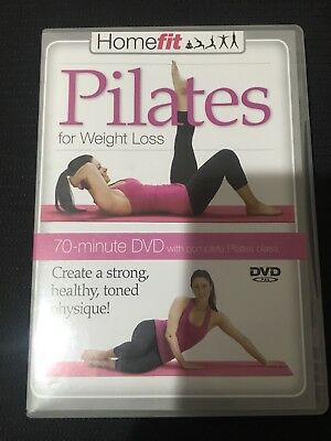 Homefit Pilates for Weight Loss DVD With Elise Watts