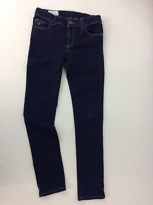 Gucci Boys Jeans Size Age 8, Slim, Dark Blue, Vgc