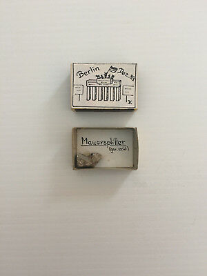 German Vintage Collectable Berlin Wall Matchbox