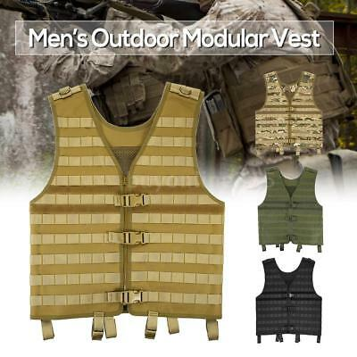 Outdoor Men's Molle Modular Vest Hunting Gear Load Carrier Vest with H8W5