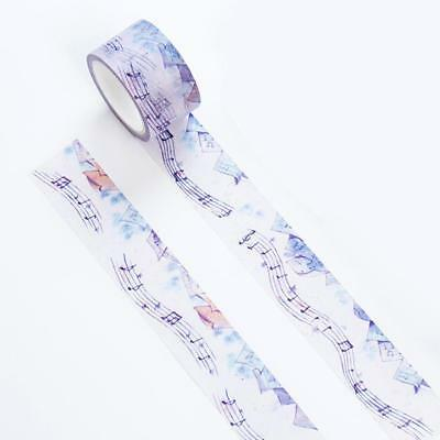 Cloud Note Watercolor Paper Washi Masking Tape Album Home  Decor DIY Craft PAL