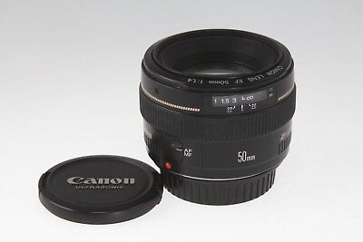 Canon EF 50mm f/1.4 USM Lens EXCELLENT CONDITION - FAST SHIPPING from USA