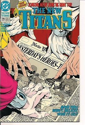 The New Titans  #79 by DC Comics