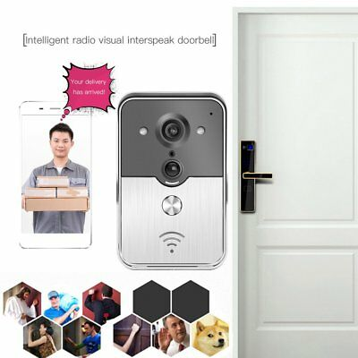 Visual Intercom Door Bell Wireless WiFi Doorbell Camera Smart Door Phone Ring AU