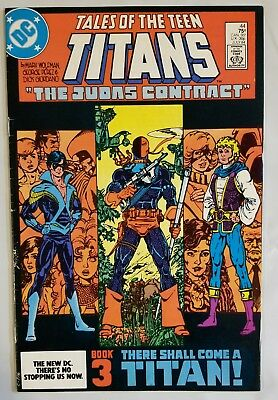 Tales Of The Teen Titans #44 1St App Nightwing Movie Coming Dc Comics Vf