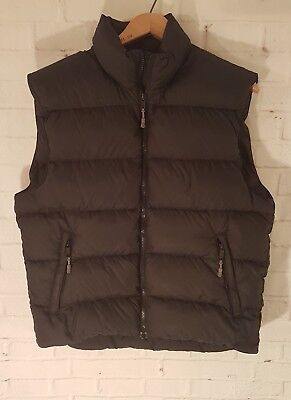 Mountain Equipment Co-Op Puffer Down Vest Jacket Woman's Size Large Black hiking
