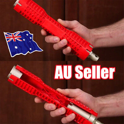 2018 New Faucet and Sink Installer, Red Extra-long design tool Hot EA