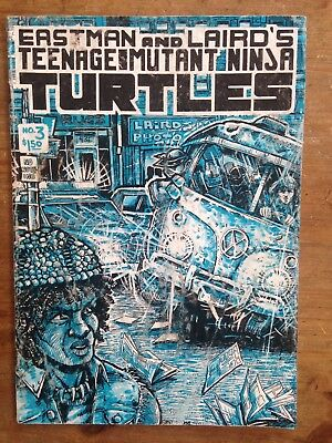 Teenage Mutant Ninja Turtles #3 (1985, Mirage) G/VG condition