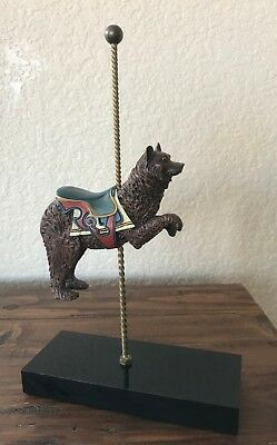 Hamilton Collection - Sixth Issue-The Dancing Bear  The Art Of The Carousel