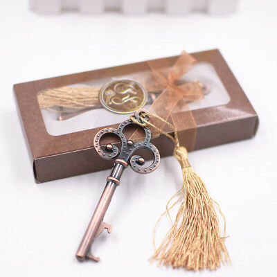 Wedding Favor for Guests Vintage Skeleton Key Beer Bottle Opener - 20pcs