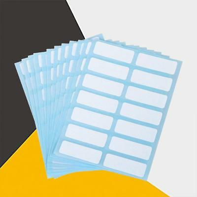 151020 Set Self Adhesive Sticky Label White Blank Stickers Note Tag Craft  Pop