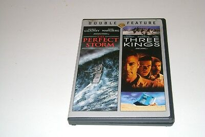 The Perfect Storm   & Three Kings -Dvd -