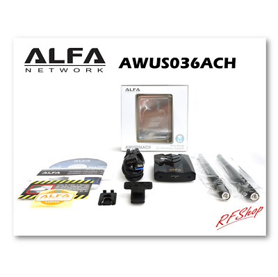 Alfa Long range 802.11ac dual band USB wireless adapter AWUS036ACH