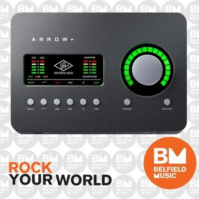 Universal Audio UA Arrow Audio Interface w/ Thunderbolt 3 - Brand New