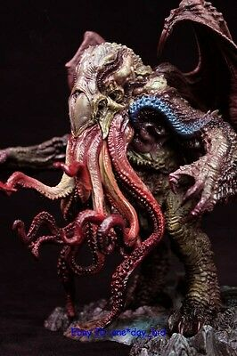 Very Rare Great Old Ones Cthulhu Figure Pre-paint Statue GK Resin White Model