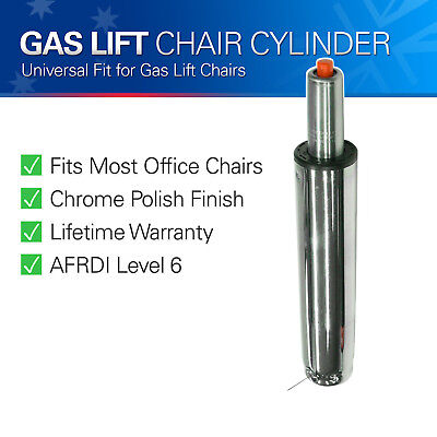 Heavy Duty Office Chair Gas Lift Chrome Pneumatic Cylinder Replacement Repair OZ