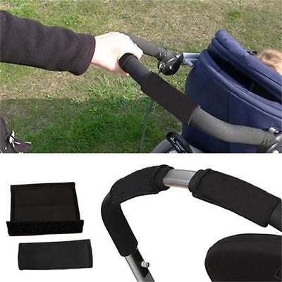 2PCS Baby Stroller/Pram/Buggy/Pushchair Soft Handle Bumble Bar Grip Cover - FI