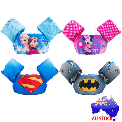 Children life jacket Puddle Jumper Life Jacket Vest Kids Swim Arm Bands Float S4