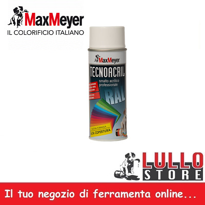 BOMBOLETTA SPRAY SMALTO ACRILICO TUNING MAX MEYER VARI COLORI RAL 400ml