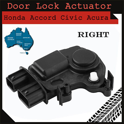 Door Lock Actuator for Honda Civic Accord CRV Odyssey RSX Direct Fit Right Side