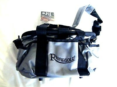 Rhinegold Full Complete Grooming Kit With Grey/black Bag New Tags