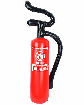 Inflatable Fire Extinguisher - Costume Fancy Dress Decoration Man Accessory