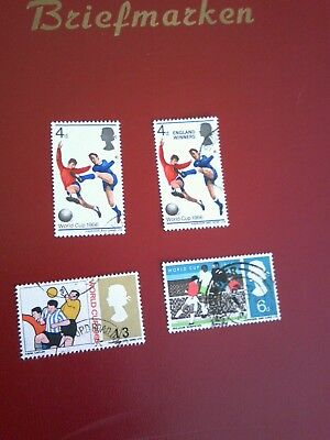 GB 1966 Commemorative Stamps~World Cup and winner stamp as well