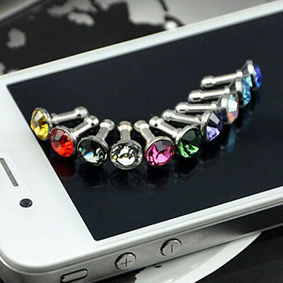 AL_ 5x Cute Anti Dust Plug Earphone Headphone Charger Cover Jack for Cell Phone