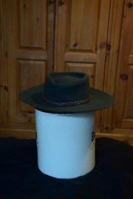 547ef1676f0c4 VINTAGE HERBERT Johnson New Bond St Fedora Poet Hat Made For Puffa ...