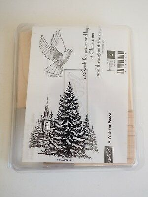 """""""Stampin' Up"""" Gorgeous Set of 3 Rubber Stamps. New in Packet! Bargain Price"""