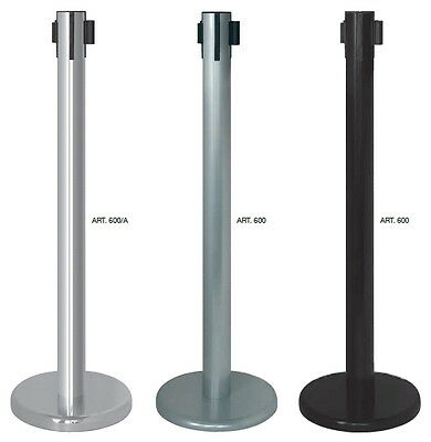 Column Signaling In Metal Lacquered Or Chrome Steel With Tape Various Colours