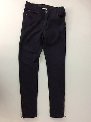 Stella McCartney Kids Dark Blue Denim Skinny Stretch Jeans Age 10 Years Girls