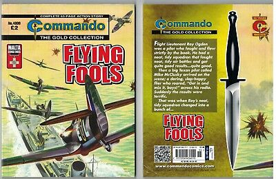 4800 Commando Flying Fools The Gold Collection NEW 63 Page Story War Book