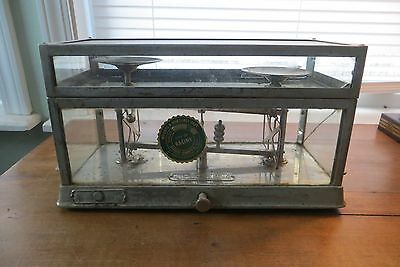 Pharmacy Scale Antique Advertising Drug Store USA Torsion Balance Co 1890's