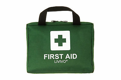 Complete Medical First Aid Kit Bag 90 Piece Home Office Car Travel Camping Handy