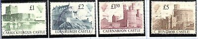 Great Britain Scott # 1230-1233 Complete Set of 4 Used
